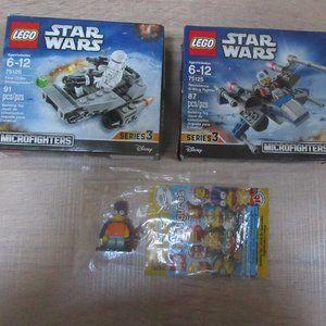 Lego Star Wars sets 75125 & 75126 minifigure Bart